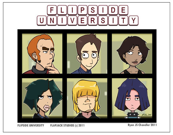 Flipside U hits Newgrounds!