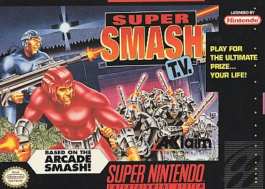 Jay Plays - Super Smash TV (SNES)