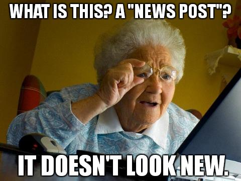 I can make news posts?