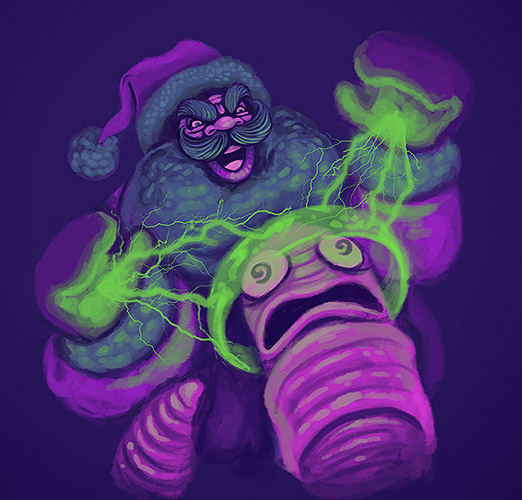 NG Xmas Worm Collab is a-Go!