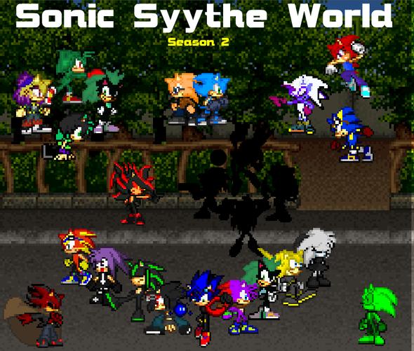 Sonic Syythe World Logo Screens