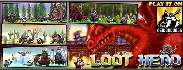 Play Loot Hero on Newgrounds