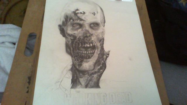 Walking Dead Poster work in progress