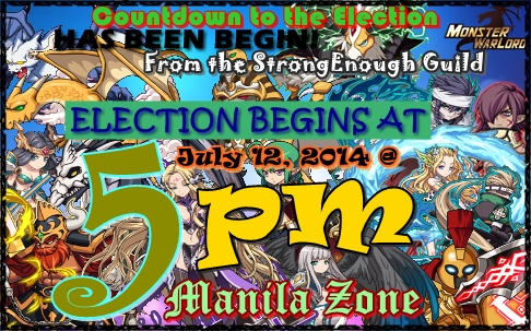 Countdown to Election (StrongEnough Guild)