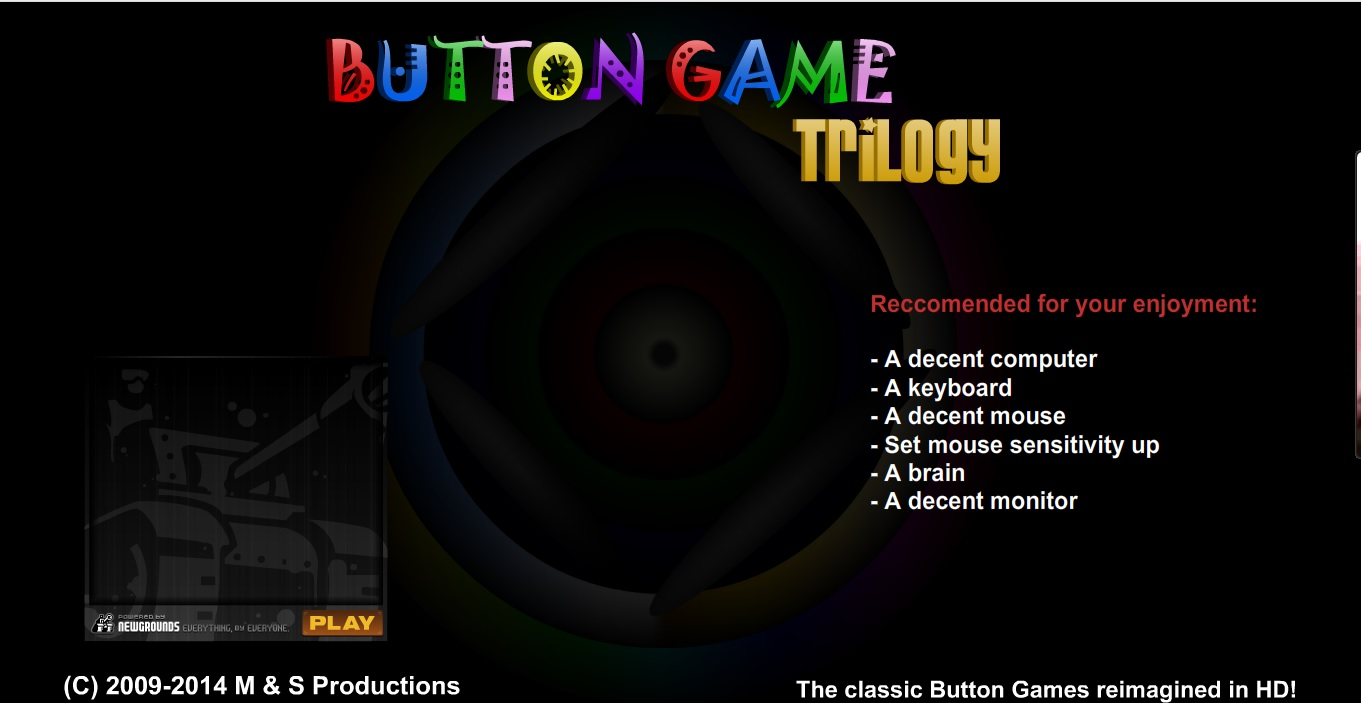 Button Game Loading Screen