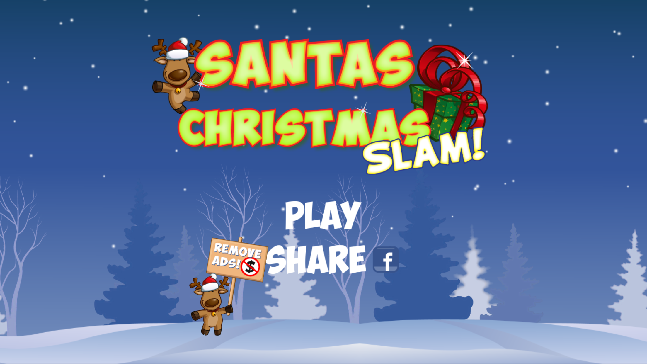 Santas Christmas Slam by Hangar-18