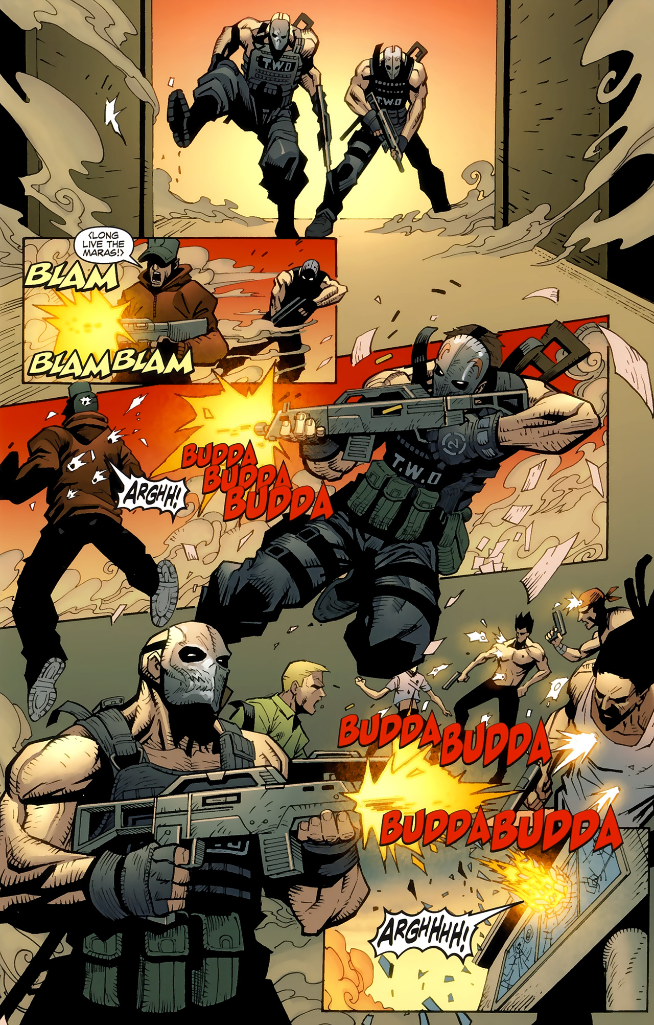 Free army of two comic collection just for you guys 4014604142270493141ao201 13g voltagebd Image collections