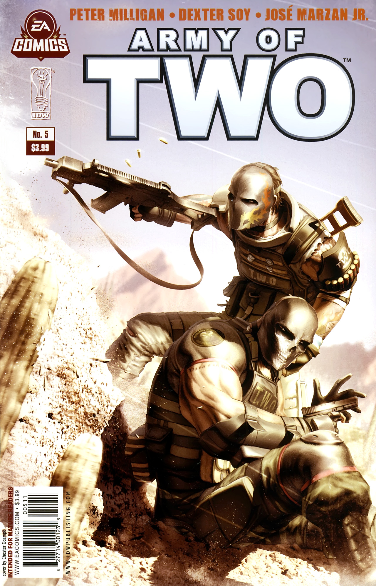 Free army of two comic collection just for you guys voltagebd Image collections