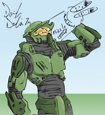 Master Chief never looked so pretty