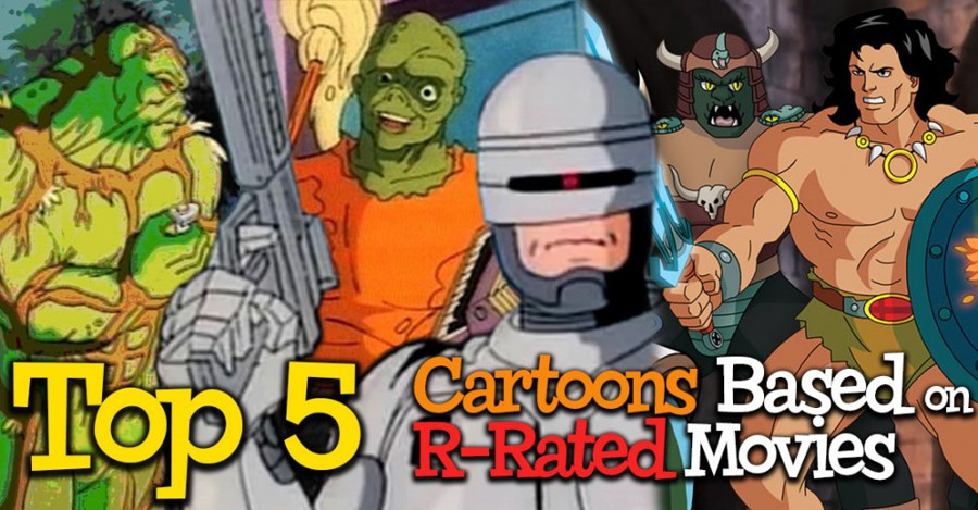 Top 5 Cartoons Based on R-Rated Movies