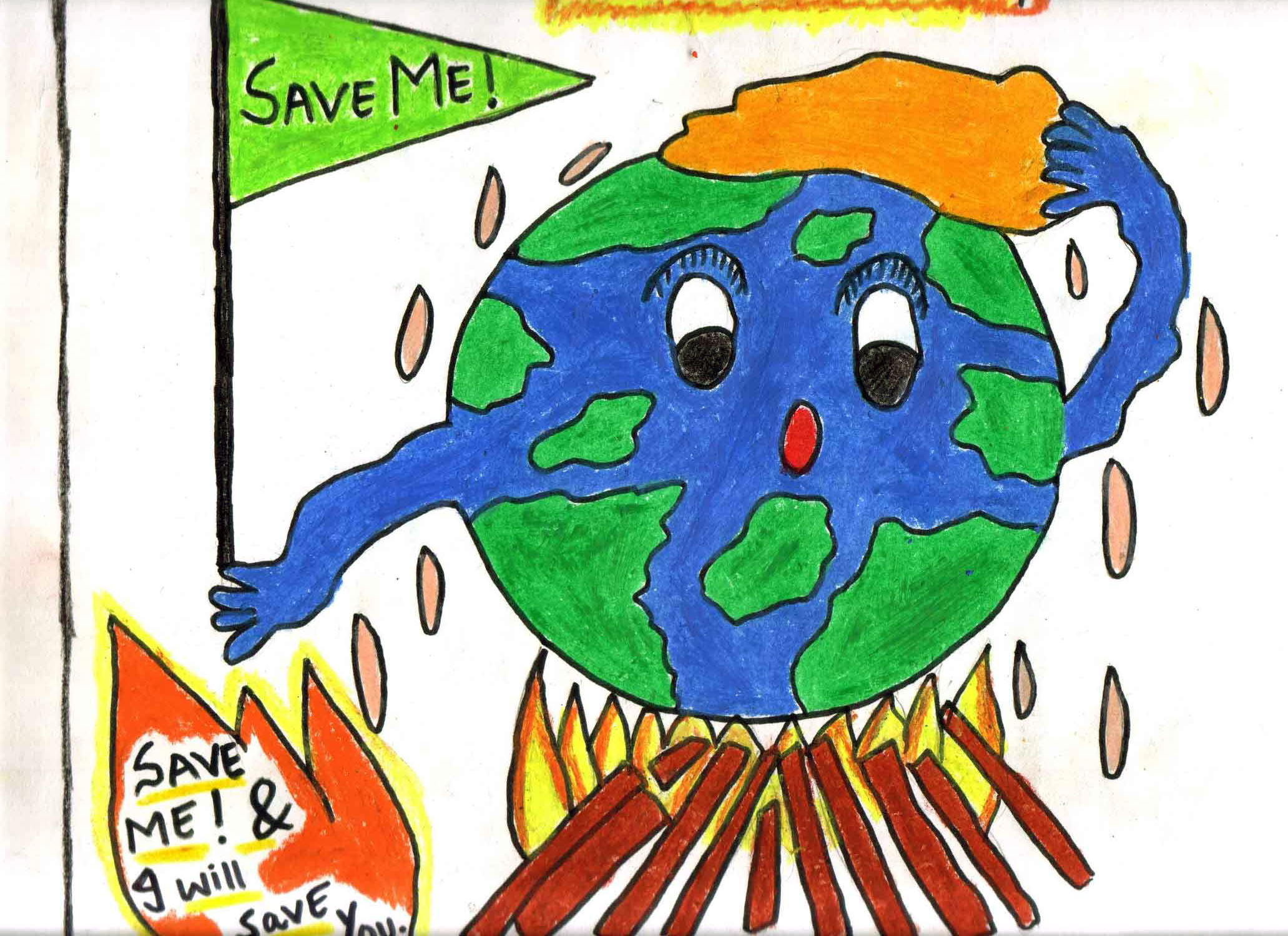 save earth save life Save earth we live on planet earth we get everything for our life from mother earth we should save our planet earth to ensure that our future generations get a safe environment.