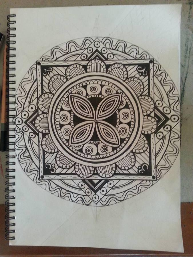 mandela doodle by April Phelps