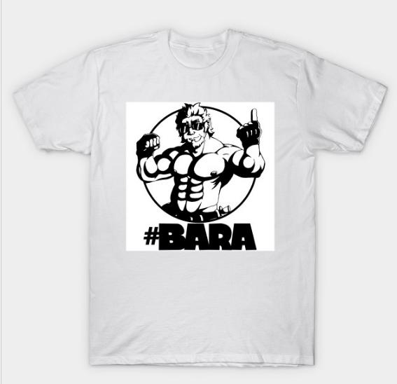 7f5f7b29 BARA T-shirt on TeePublic - by AniLover16