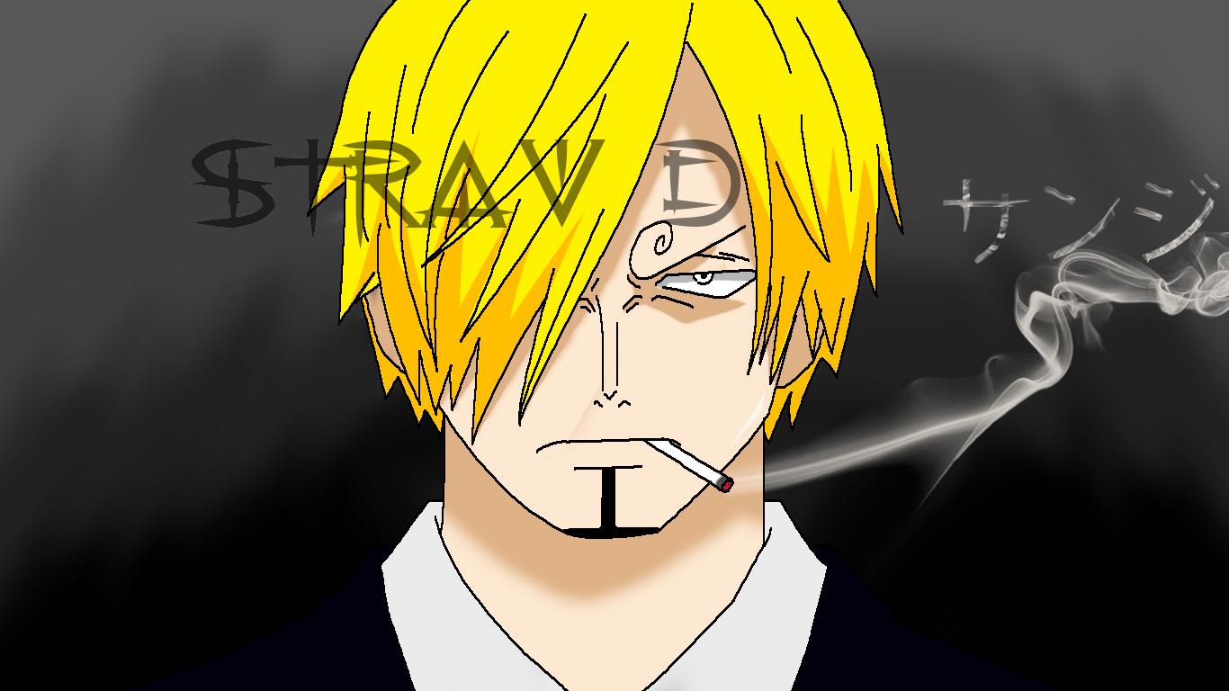 Character - Black leg Sanji Anime - One Piece